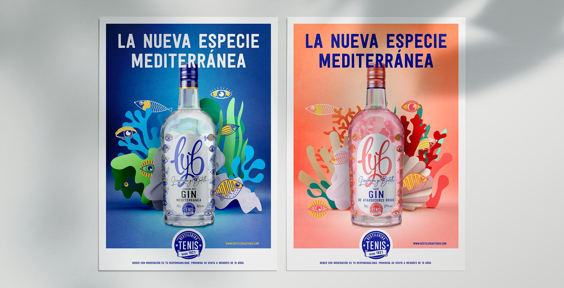 Grafica publicitaria LYB